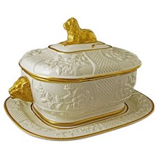 Mottahedeh Lion Tureen and Stand - 20th Century, Italy
