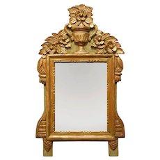 French Country Bridal Wedding Mirror Rectangular Vertical Gilt