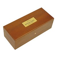 Champagne Perrier-Jouet Epernau France Double Magnum Wood Case Box Crate - 20th C, France
