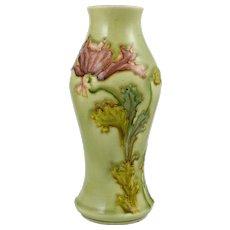 Art Nouveau French Optat / Paul Milet Sevres Ceramic Vase Victor Yung