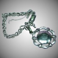 Monet Silver-tone Charm Bracelet