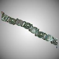 Souvenir 1960's Silver Tone French Paris Tourist  Bracelet