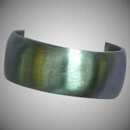 Brushed Stainless Steel Band Size 7-1/2 Ring