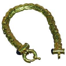 Joan Rivers Signed Gold Plated Bracelet