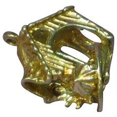 Rain or Shine Mechanical Sterling Silver Bracelet Charm or Necklace Pendant