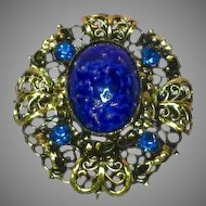 Austria Rhinestones Art Glass High Quality  Necklace Pendant Pin Brooch