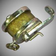Sterling Silver Pencil Sharpener Mechanical Moving Articulated Bracelet Charm
