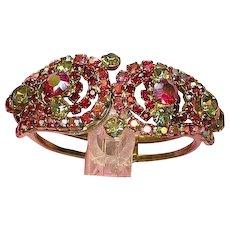 Juliana D&E Designer Rhinestones Clamper Bracelet