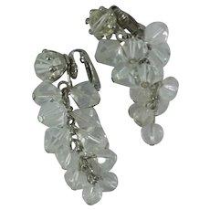 Gorgeous Crystal Bead Drop Dangle Earrings