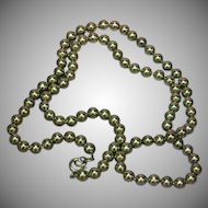 """Stainless Steel Ball Chain 27"""" Necklace"""