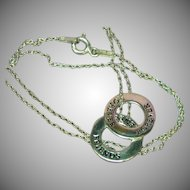 Sterling Silver Friends Forever Rings Friendship Necklace
