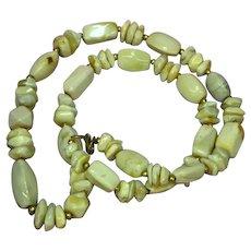 Gemstones Magnificent Agate Caramel Color Necklace