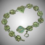Catholic Rose Religious Devotional Bracelet