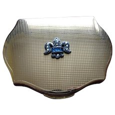 GORGEOUS Vintage Stratton Regency Marcasite Powder Compact,Purse Compact, Elegant Design,Collectible Vintage Compacts