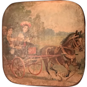 19th Century Candy Box - Ride in the Horse Cart