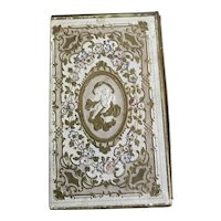 Exquisite Large 19th Century French Mirrored Book Box
