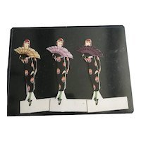Three Volland Placecards -- The Enchantress