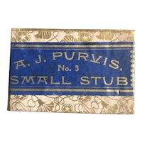 Unopened Pink AJ Purvis #3 Small Stub Pen Nibs Box