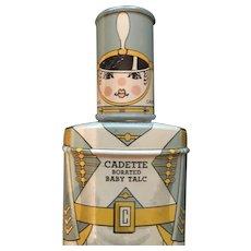Cadette Borated Baby Talc Tin