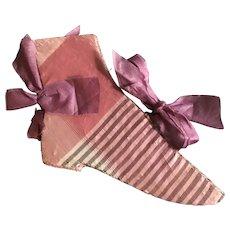 19th Century Shoe Shaped Needlebook