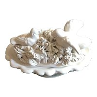 Italian Pottery Lidded Pin Dish for Valentine's Day - Love Birds