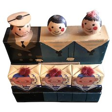 """1931 Biette """"Joyeaux Marins"""" - Extremely Rare French Boxed Set of 3 Soaps"""