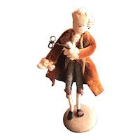 Early Wrapped Wire Doll - A Courtier