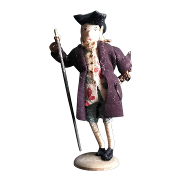 Early Wrapped Wire Doll - A Gentleman