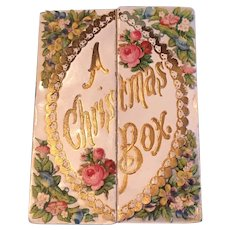 Victorian Christmas Card—A Pull Out Box