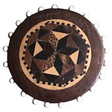 19th Century Tunbridge Ware Pin Disc