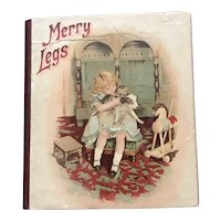 Merry Legs - A Tiny Book for Your Doll Display