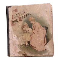 A Little Love Letter - A Tiny Book for your Doll Display