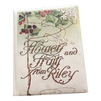 Flowers and Fruit from Riley - An Edwardian Gift Book