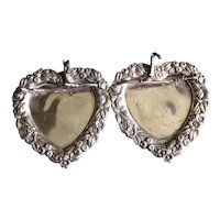 Victorian Double Heart Pen Tray perfect for Valentine's Day