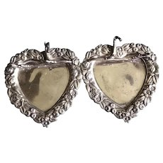Victorian Double Heart Pen Tray