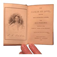 1849 Miniature Gift Book - The Casket of Love