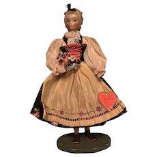 "Marguerite Uebel Wax Doll ""Ober Bayern"""