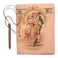1902 Dance Card for Masque Ball Farmington NH