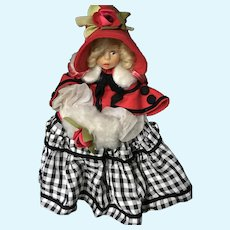 Lenci Miniature #300/77 The Victorian Girl