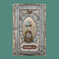 1860's Mullord Sachet Valentine - Remember Me