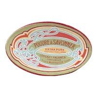 Lorenzo Palanca Art Nouveau Soap Powder Box - Poudre a Savonner
