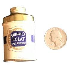 Sample Size Talc Tin - Colgate's Eclat Talc Powder