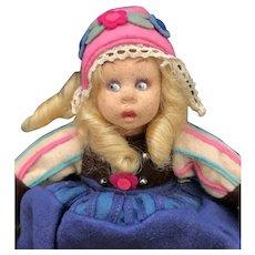1930's Lenci Dutch Girl Miniature #300/4