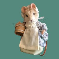 R. John Wright Mother Goose Mice - Little Maid Pretty Maid