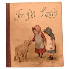 The Pet Lamb - An Ernest Nister Book for your Spring Doll Display