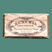 1920's Harriet Hubbard Ayer Luxuria Face Powder Sample Box for Doll Display