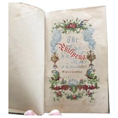 1851 Miniature Gift Book - The Philopena or Friendship's Token