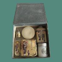 1920's Lazell Massatta Travel Set