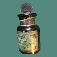 4711 Lavender Smelling Salts Bottle