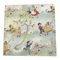 1930's Child's Handkerchief Box for Doll Display